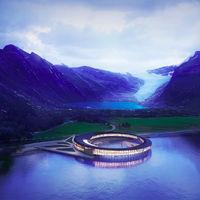 El hotel más ecológico del mundo es noruego, se llama Svart y quiere enamorarte con su diseño 360º