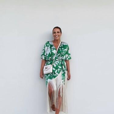 Paula Echevarría tiene el vestido de invitada perfecto (y comparte estilo con Tamara Falcó)
