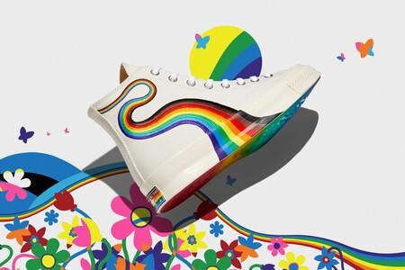 Converse celebra el mes del orgullo dotando de color sus más icónicos modelos para este verano