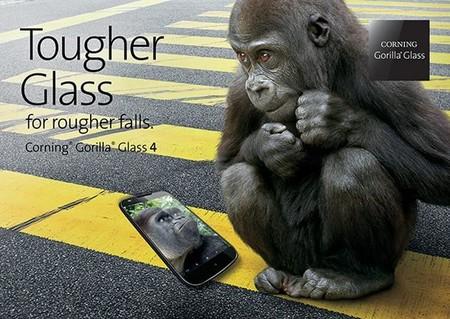 Gorilla Glass 4 será el nuevo cristal que protegerá nuestros dispositivos