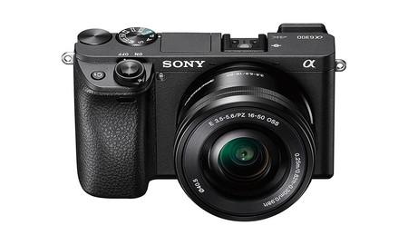 También en APS-C: la Sony Alpha A6300 con objetivo 16-50 mm, hoy en Amazon a su precio mínimo, por 698 euros
