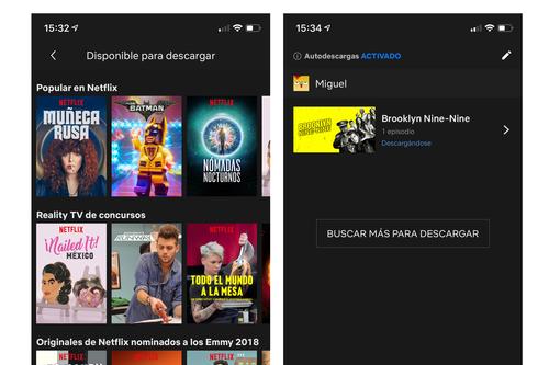 Cómo desactivar las nuevas autodescargas de Netflix en tu iPhone o iPad y cuándo deberías hacerlo