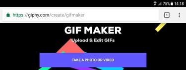 Así puedes crear GIFs con tu móvil sin tener que instalar ninguna app