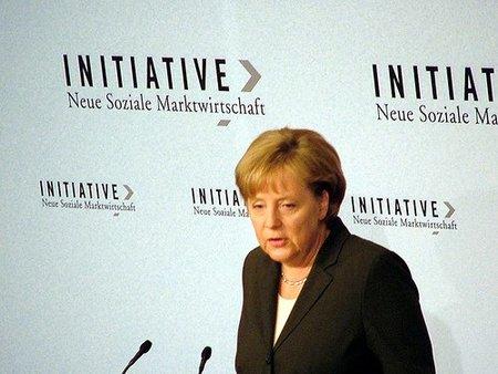 Angela Merkel desafía a los especuladores