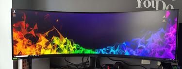 Samsung Odyssey G9, análisis: un alucinante monitor gaming que te envuelve con su curva y te conquista con sus 240 Hz