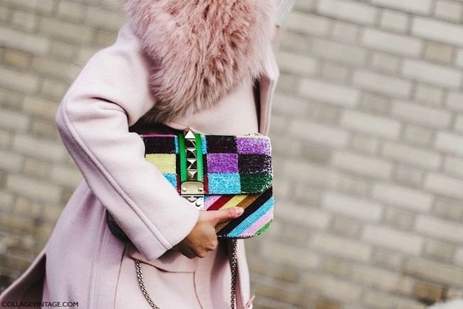 Valentino Rainbow Bag Nyfw