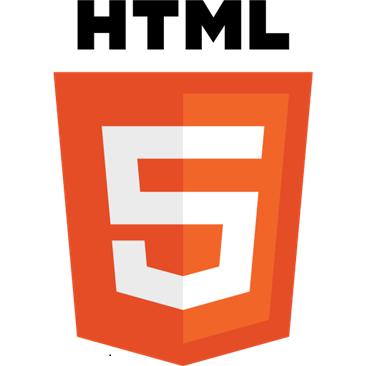 El logo de HTML5.