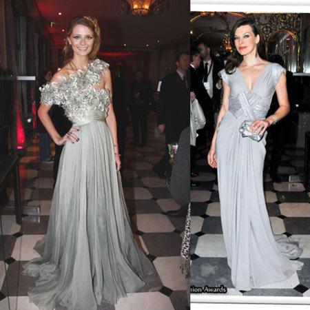 Mischa Barton iba especialmente guapa con un vestido largo muy glamouroso de Elie Saab de Alta Costura de la colección Primavera,Verano 2009.