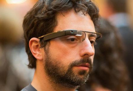 92e715d4a7 Google Project Glass: Sergey Brin se pone las gafas