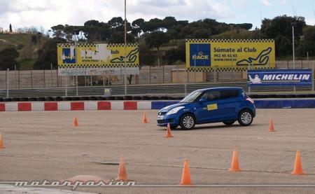Michelin, Circuito del Jarama, Neumáticos nuevos y neumáticos desgastados a prueba 03