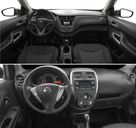 Chevrolet Aveo Vs Nissan Versa 4