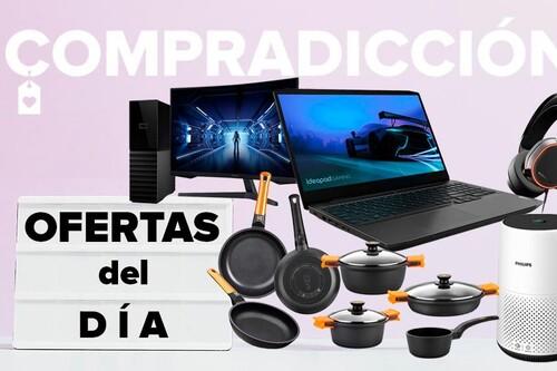16 ofertas del día en Amazon: portátiles y monitores gaming Lenovo, Samsung, ASUS o Alienware, discos duros WD, sets de Playmobil y menaje Bra a precios rebajados