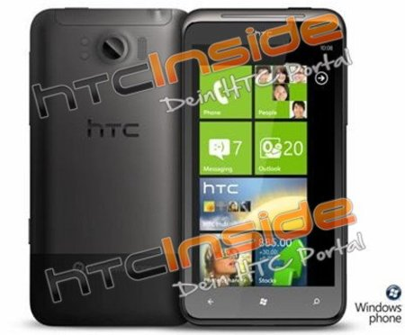 HTC Eternity, un Windows Phone 7 gigante está esperando a Mango