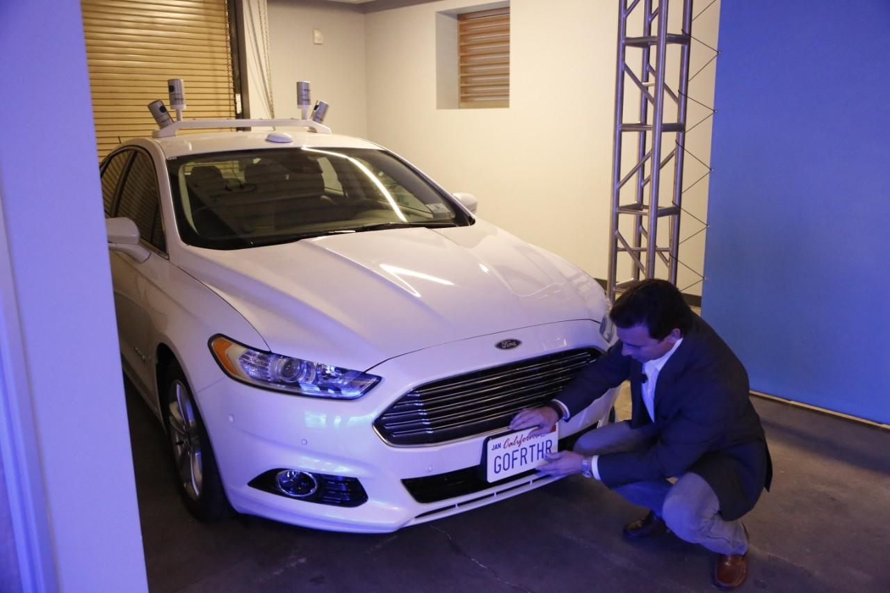 Foto de Ford Fusion autónomo (1/4)