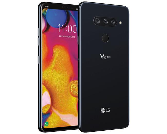 El nuevo LG V40 ThinQ se deja ver en todo su esplendor junto con sus cinco cámaras