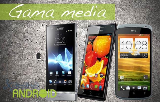 Mejores teléfonos Android de gama media