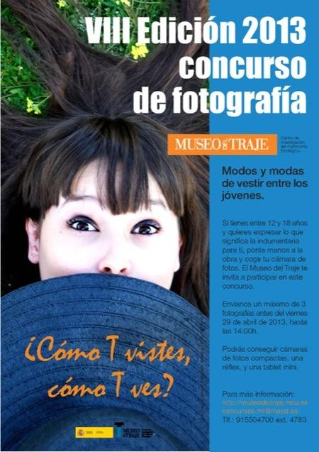 Concurso de fotografía en el Museo del Traje: ¿cómo T vistes, cómo T ves?