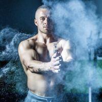 Magnesio en polvo, líquido, mitones o esponjas para proteger las manos y mejorar el agarre
