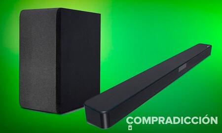 Estrenar barra de sonido para la Eurocopa sólo te costará 129 euros si eliges la LG SN4 en MediaMarkt