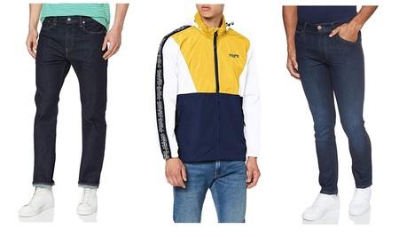 Chollos en tallas sueltas de pantalones, camisas y chaquetas de marcas como Levi's, Quiksilver o Pepe Jeans en Amazon por menos de 30 euros