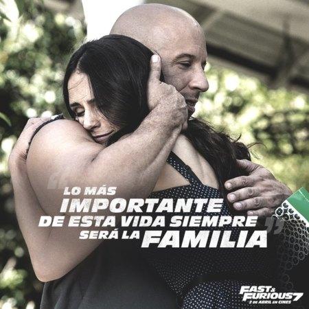 Una imagen promocional de Fast and Furious 7