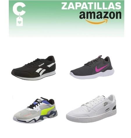Chollos en tallas sueltas de zapatillas Puma, Nike o Reebok por menos de 40 euros  en Amazon