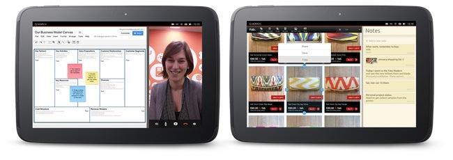Ubuntu on tablets - Side Stage, multitarea