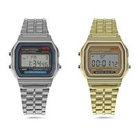 Por sólo 2,66 euros puedes hacerte con este reloj digital de acero inoxidable gracias a Gearbest