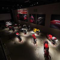 Cuando el motociclismo es arte: 16 Ducati se expondrán como obras en un museo ruso durante cinco meses