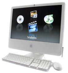 iMac de aluminio con pantalla táctil