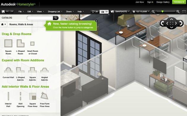 La casa de tus sue os con autodesk homestyler for Disenar casa online con autodesk homestyler