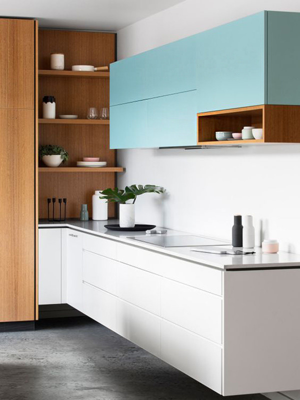 Muebles Azules Cocina 7