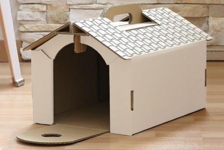 casa de cartón mascotas 2