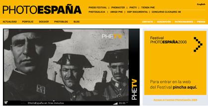 Inaugurado el Festival PhotoEspaña 2008