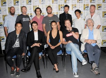El equipo de Warcraft en la Comic-Con