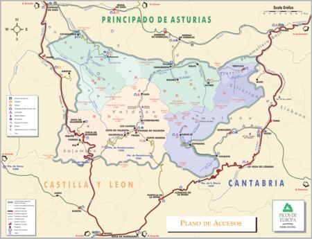 Mapa Picos