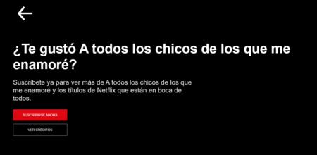Suscripción a Netflix