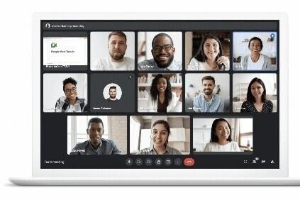 Google Meet usará la AI para centrar la imagen aunque te muevas o minimizar el efecto de estar a contraluz