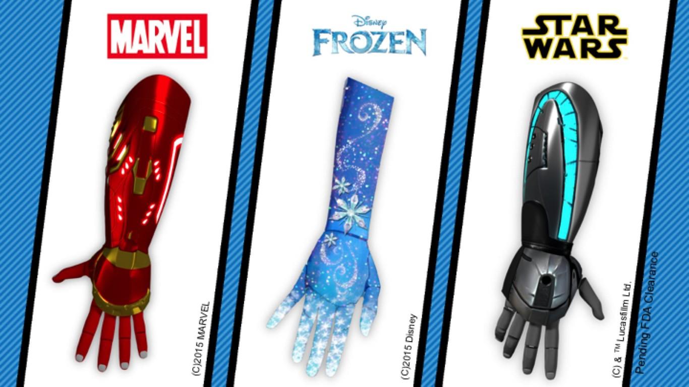 Estas increíbles prótesis son capaces de transformar a los niños en superhéroes o princesas