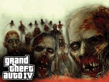 Una infección Zombie se apodera de 'GTA IV'. Peligro de contagio