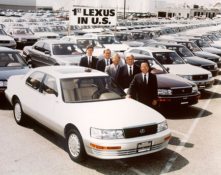 1989 First Lexus USA