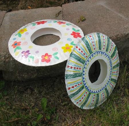 Manualidades Verano Frisbee