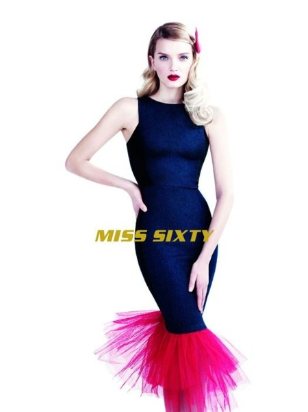 Nunca imaginaste que el vaquero se pudiera llevar como Lily Donaldson para Miss Sixty