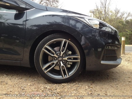 Hyundai I30 Turbo prueba dinámica