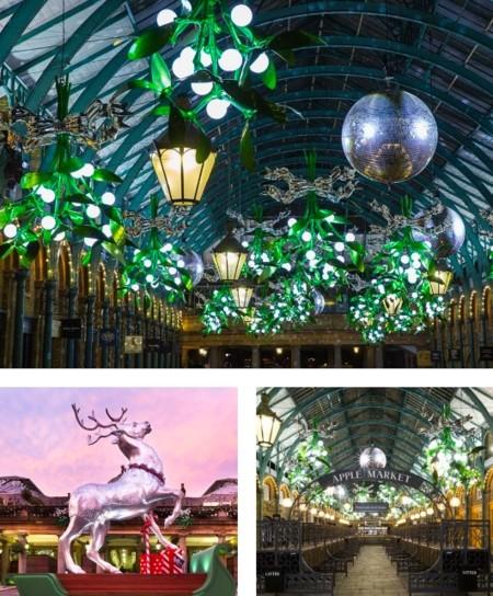 Covent Garden Piazza Navidad