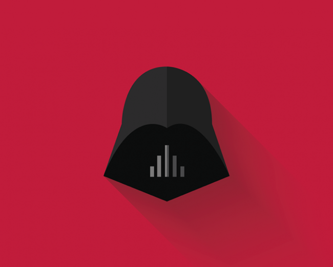 Foto de Original interpretación minimalista de los personajes de Star Wars por Filipe Carvalho (3/7)