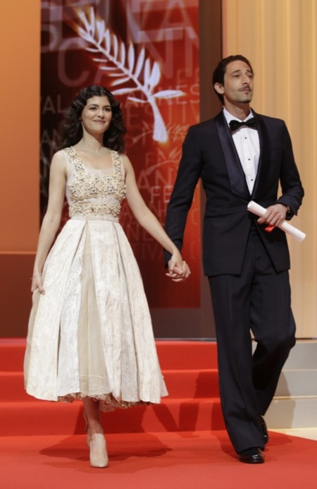 Audrey clausura Cannes 2012