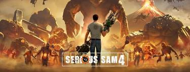 Serious Sam 4 muestra su disparatada y característica acción en este nuevo tráiler con gameplay
