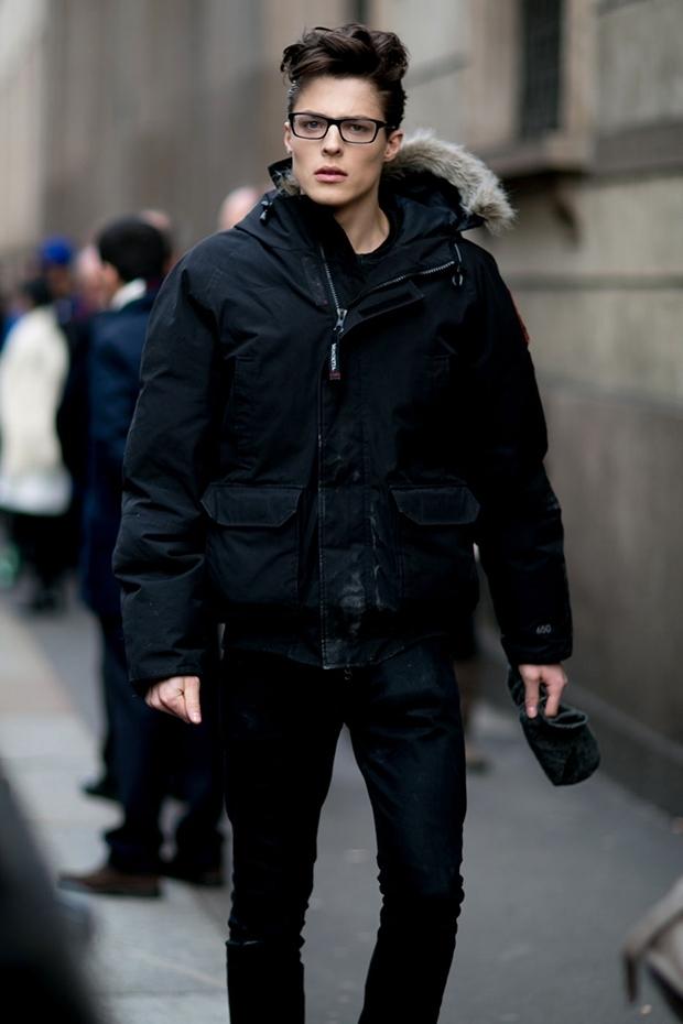Modelos masculinos Streetstyle