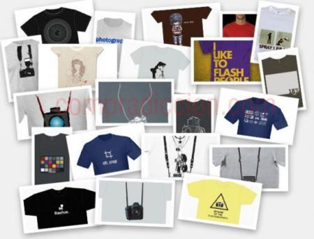 28 camisetas para fotógrafos